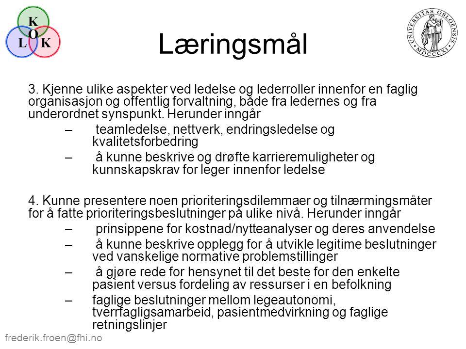 Læringsmål 5.