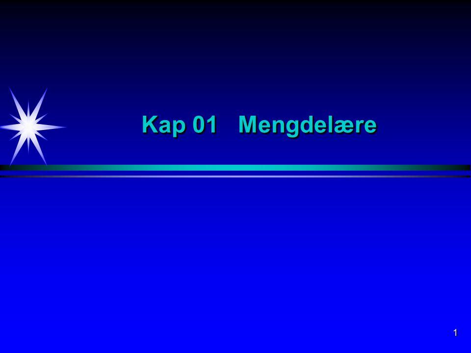 1 Kap 01 Mengdelære