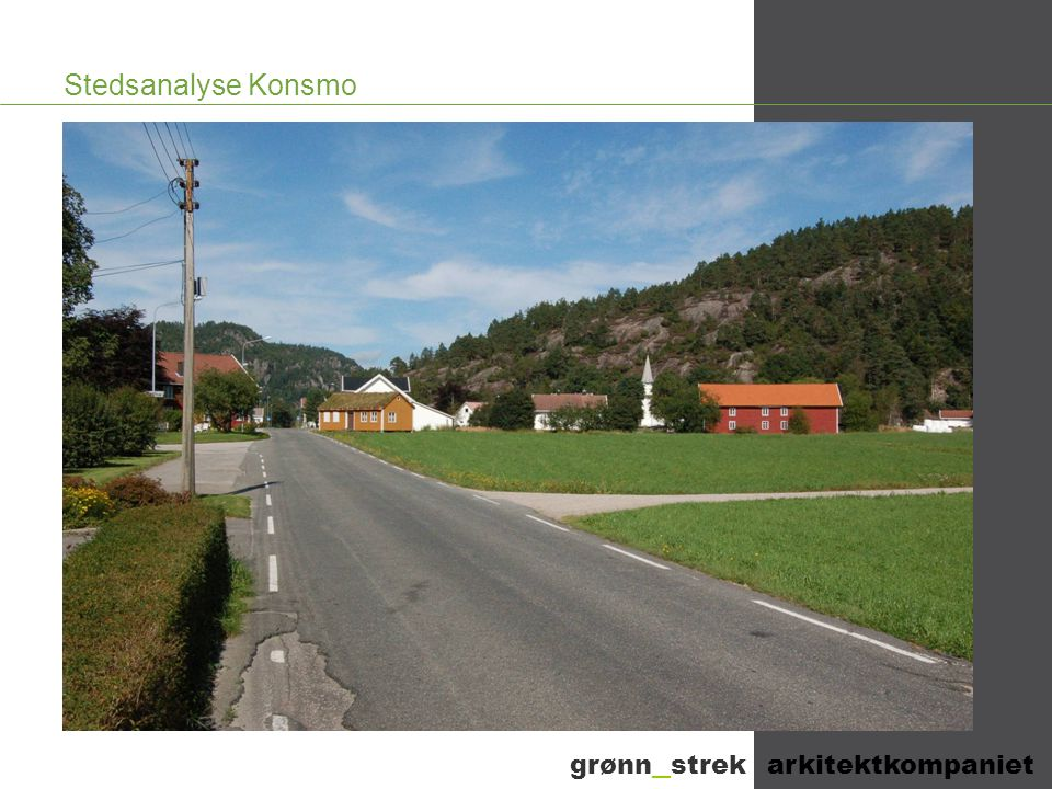 Stedsanalyse Konsmo grønn _ strek arkitektkompaniet
