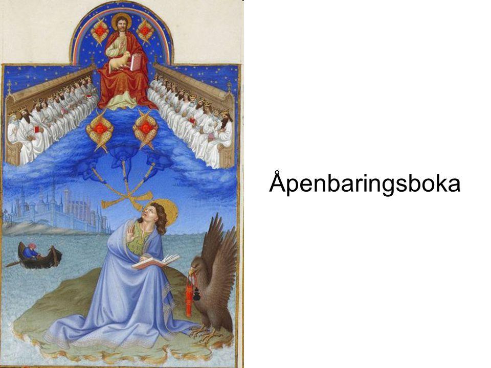 Johannes Åpenbaring 1.Glimt fra endetidsforkynnelsen i vår tid.