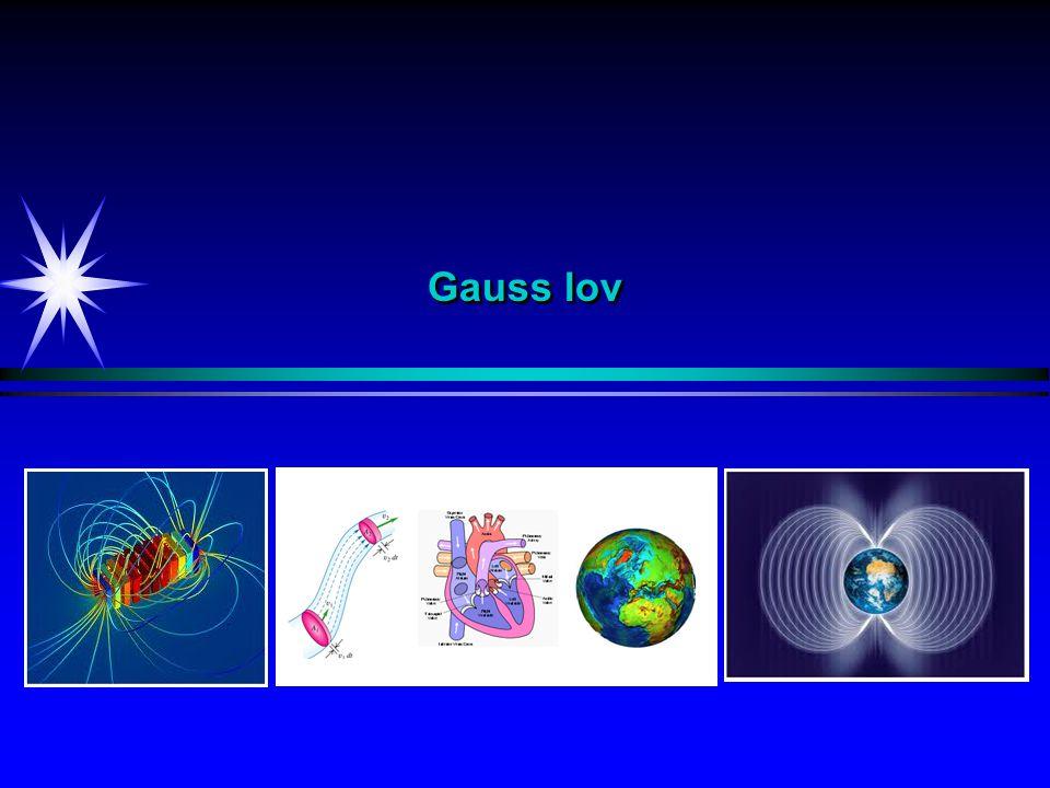 Elektrisk fluks Eks 3: Elektrisk fluks ut av en kule En positiv ladning q = 3.0  C befinner seg i sentrum av en kule med radius 0.20 m.