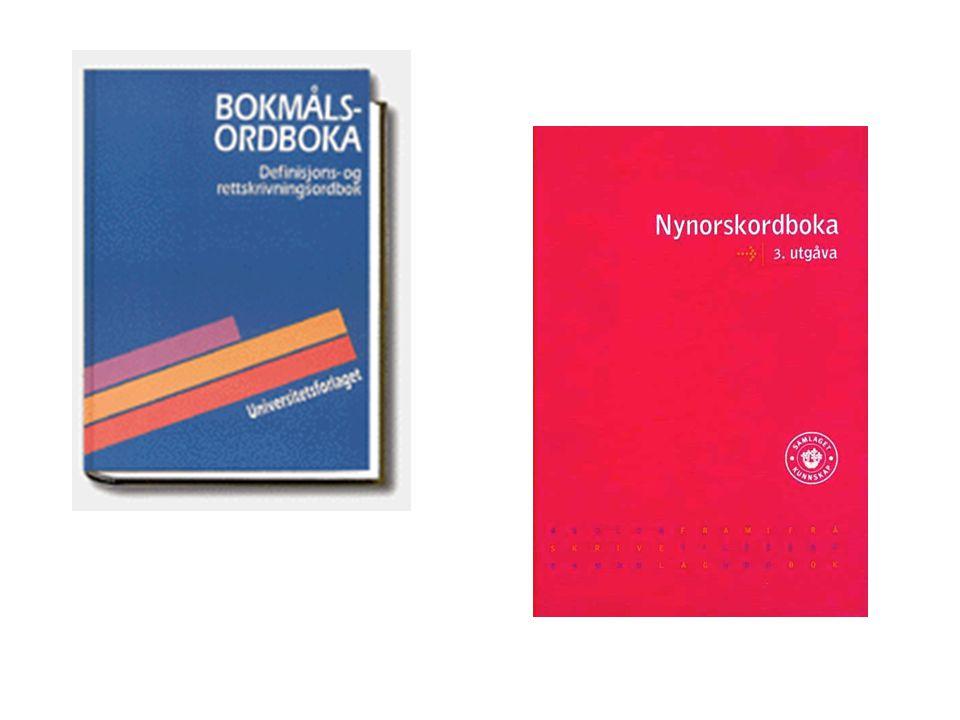Regjeringa har som utgangspunkt å leggje tilhøva til rette for ei god utvikling for nynorsk skriftspråk.