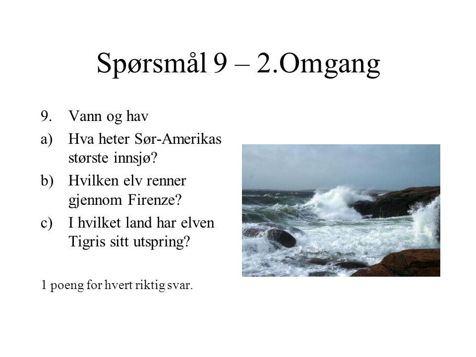 Spørsmål 8 – 2.Omgang 8.Penger og valuta a)Hvilken forfatter er avbildet på den svenske 20-kroneseddelen.