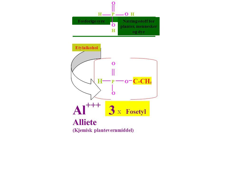 O H P OH Phosphorigesäure Nährstoff für O Pfl.