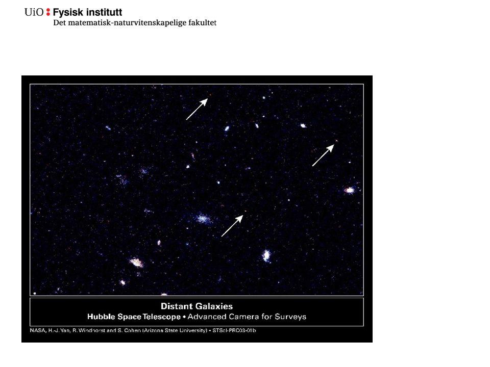 http://www.youtube.com/watch?v=MoTNGmlOO2g Det observerbare universet er 13,7 milliarder år gammelt Det har nå en radius på 46.5 milliarder lysår i alle retninger fra jorden.