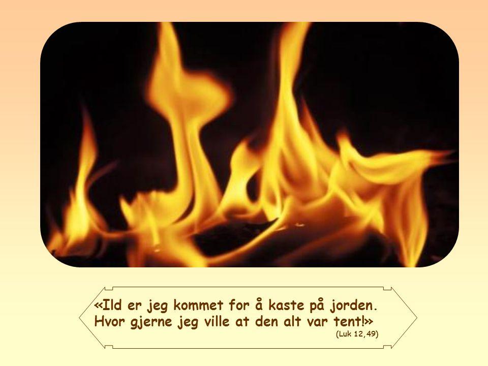 «Ild er jeg kommet for å kaste på jorden. Hvor gjerne jeg ville at den alt var tent!» (Luk 12,49)