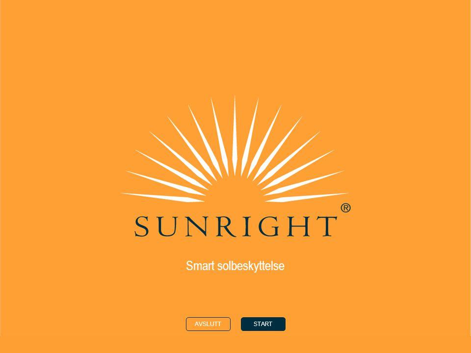HJEMTILBAKENESTE solen din hudtype i solen sunright ® - ingredienser sunright ® - produkter ©Nu Skin Europe 2008 Smart solbeskyttelse Solen  Når sommeren nærmer seg, er det mange som gleder seg til å få en lekker brunfarge.