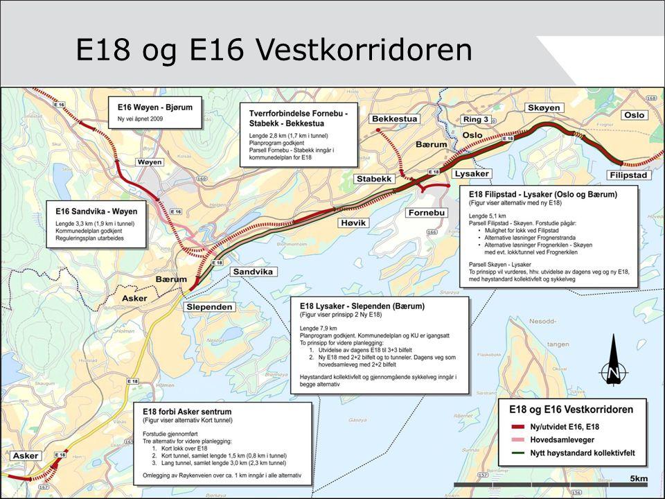 E18 og E16 Vestkorridoren