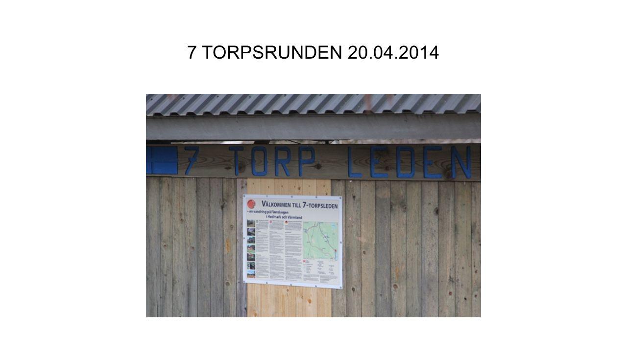 7 TORPSRUNDEN 20.04.2014