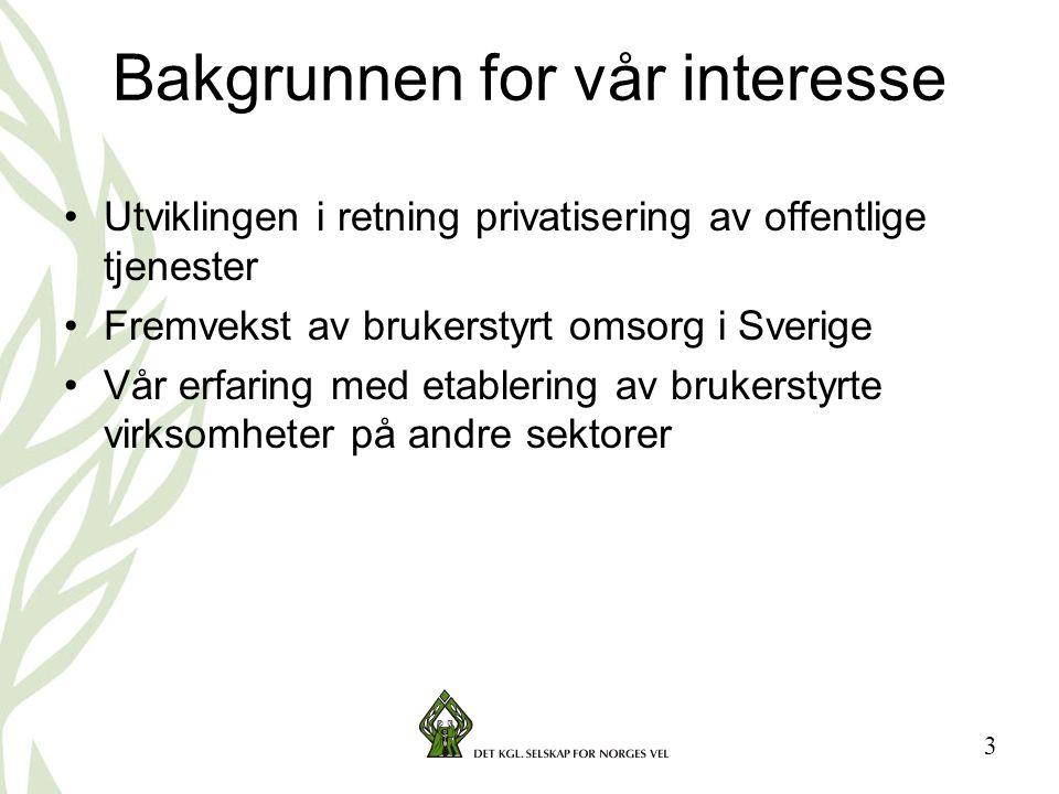 14 Ulike former for kooperativ organisering Benevningen forteller hvilken interessegruppe som har satt seg i førersetet.