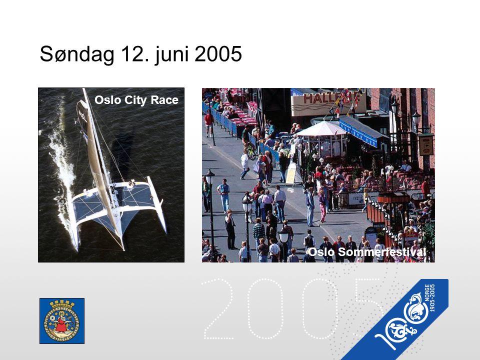Søndag 12. juni 2005 Oslo Sommerfestival Oslo City Race