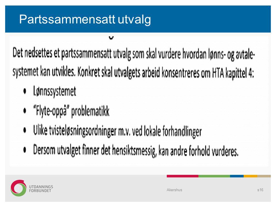 Partssammensatt utvalg Akershuss16
