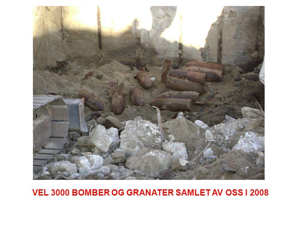 VEL 3000 BOMBER OG GRANATER SAMLET AV OSS I 2008