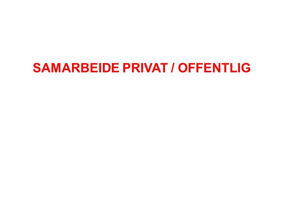 SAMARBEIDE PRIVAT / OFFENTLIG