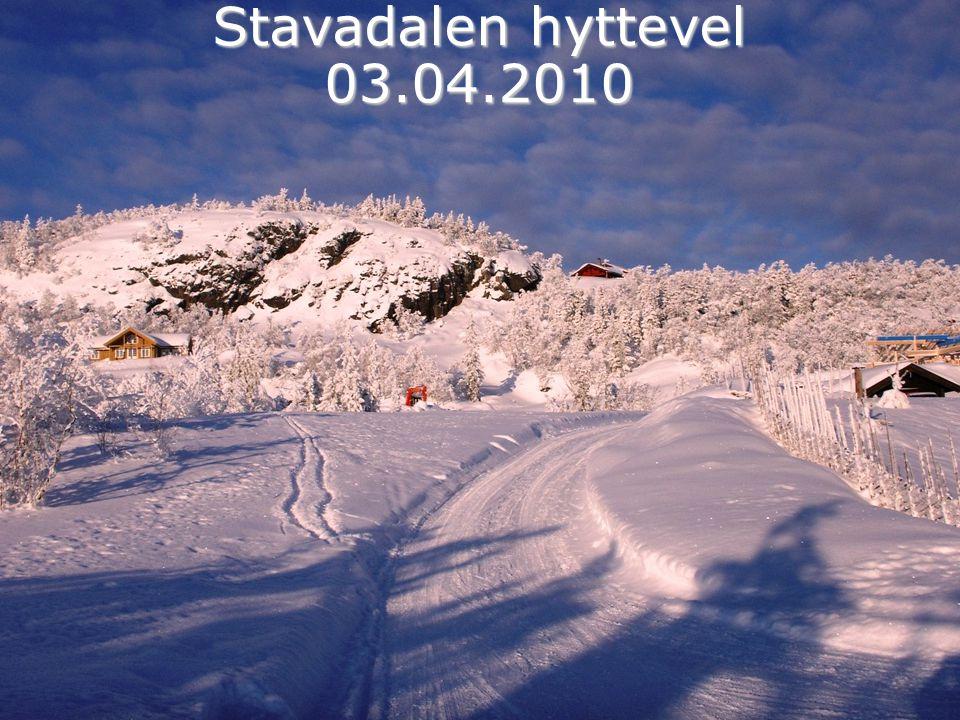 Stavadalen hyttevel 03.04.2010