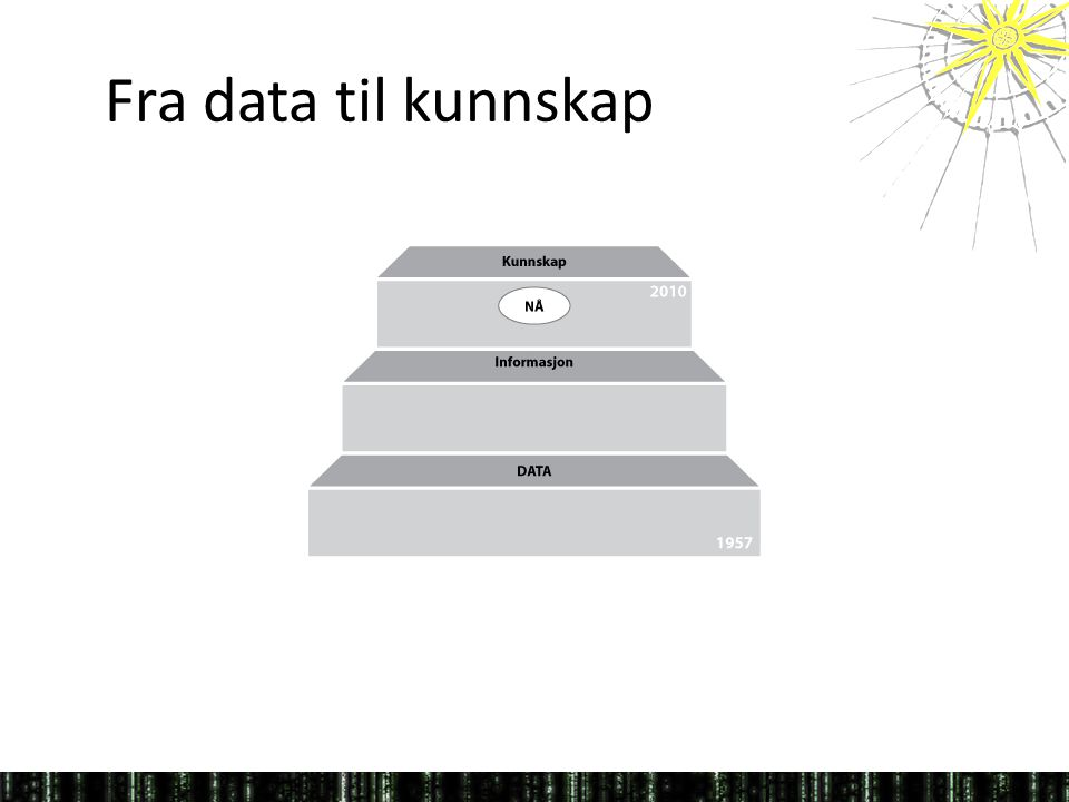 Fra data til kunnskap