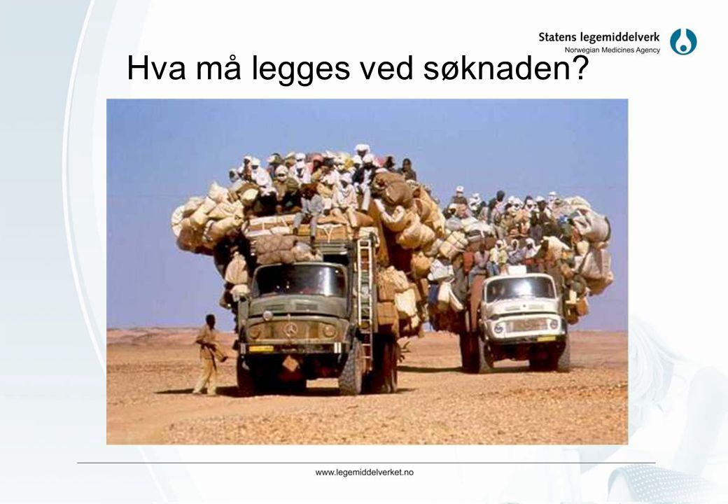 Unødvendig byråkrati å søke SLV? •Målet for Legemiddelverkets vurderinger er at utprøvinger som foregår i Norge skal ha: –Ivareta forsøkspersonenes si