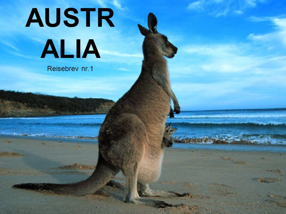 AUSTR ALIA Reisebrev nr.1