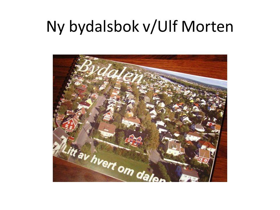 Ny bydalsbok v/Ulf Morten