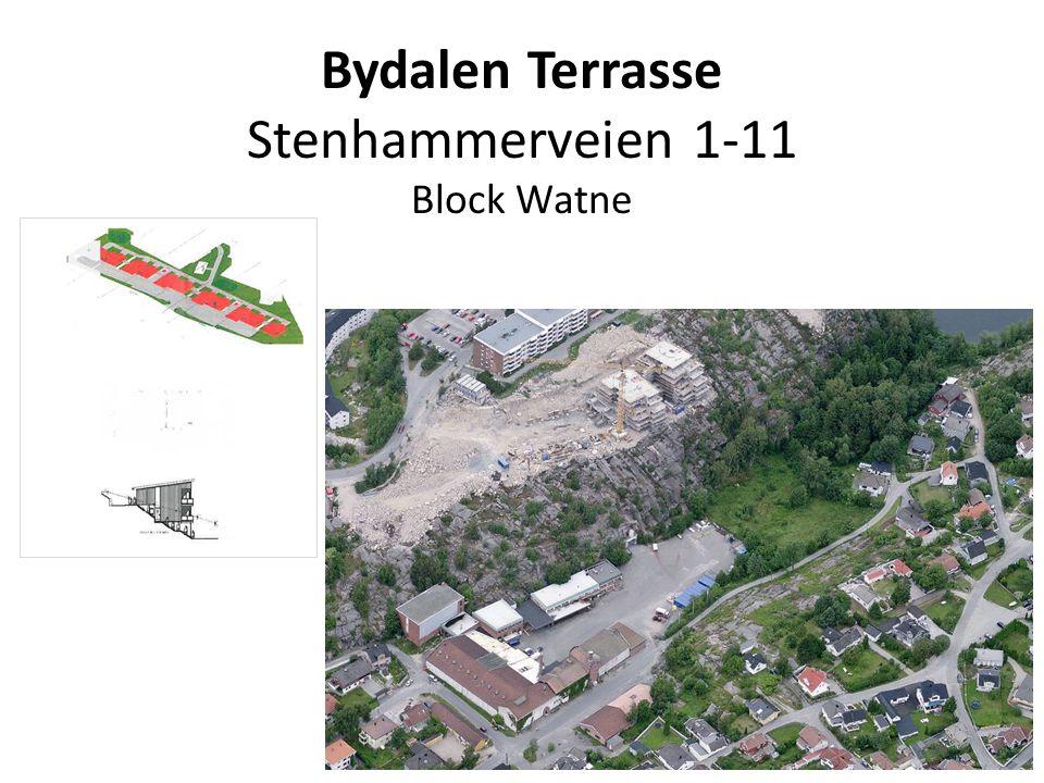 Bydalen Terrasse Stenhammerveien 1-11 Block Watne