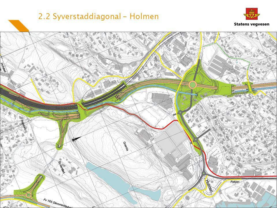2.2 Syverstaddiagonal - Holmen