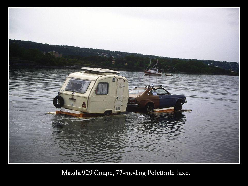 Mazda 929 Coupe, 77-mod og Poletta de luxe.