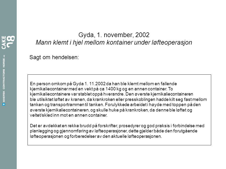 Gyda, 1.