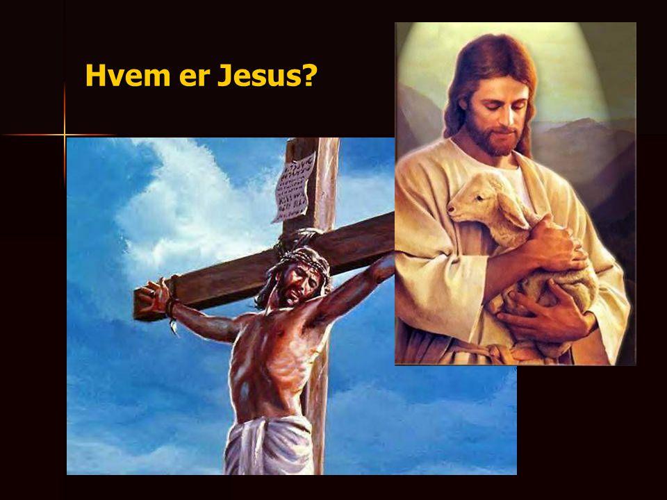 a) Hva Jesus sa om seg selv. Jeg er livets brød (Joh 6:35).