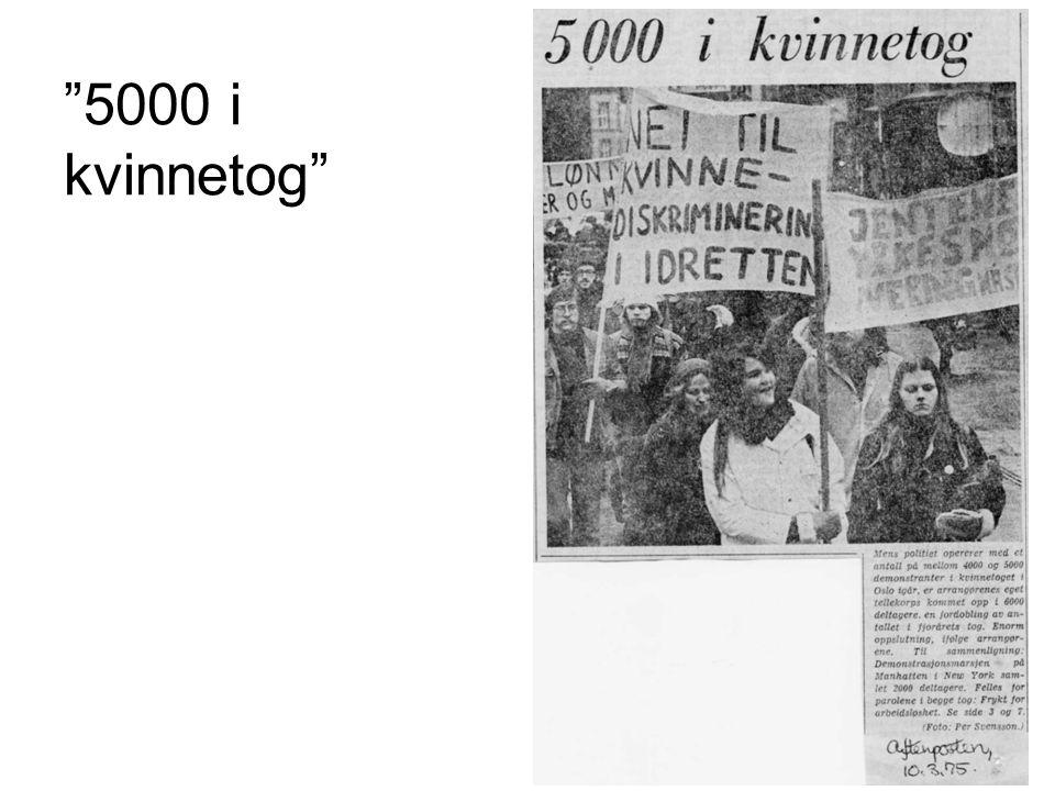"""""""5000 i kvinnetog"""""""