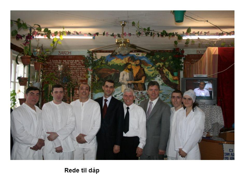 Rede til dåp