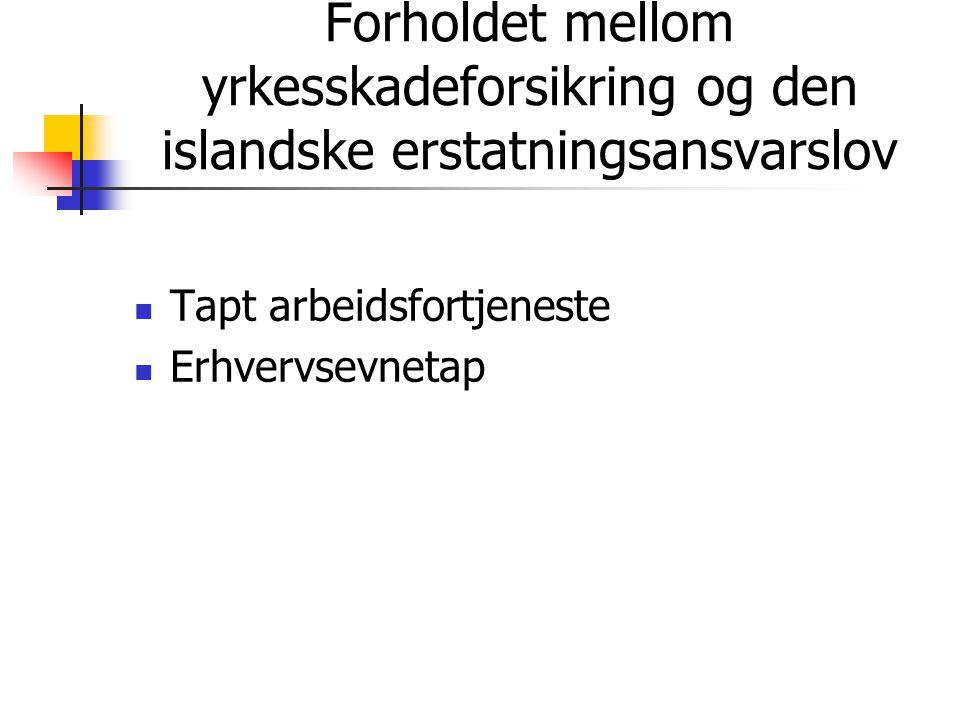 Yrkesskadeforsikring for islandske sjøfolk  Innledning  Den islandske sjølov nr.