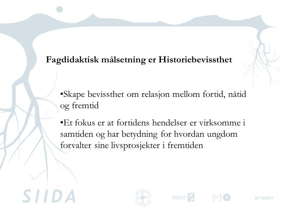 Spillets historiske forankring; •utvikling frem mot samisk jernalder •konsolideringen av en kollektiv samisk etnisitet Britt Kramvig: