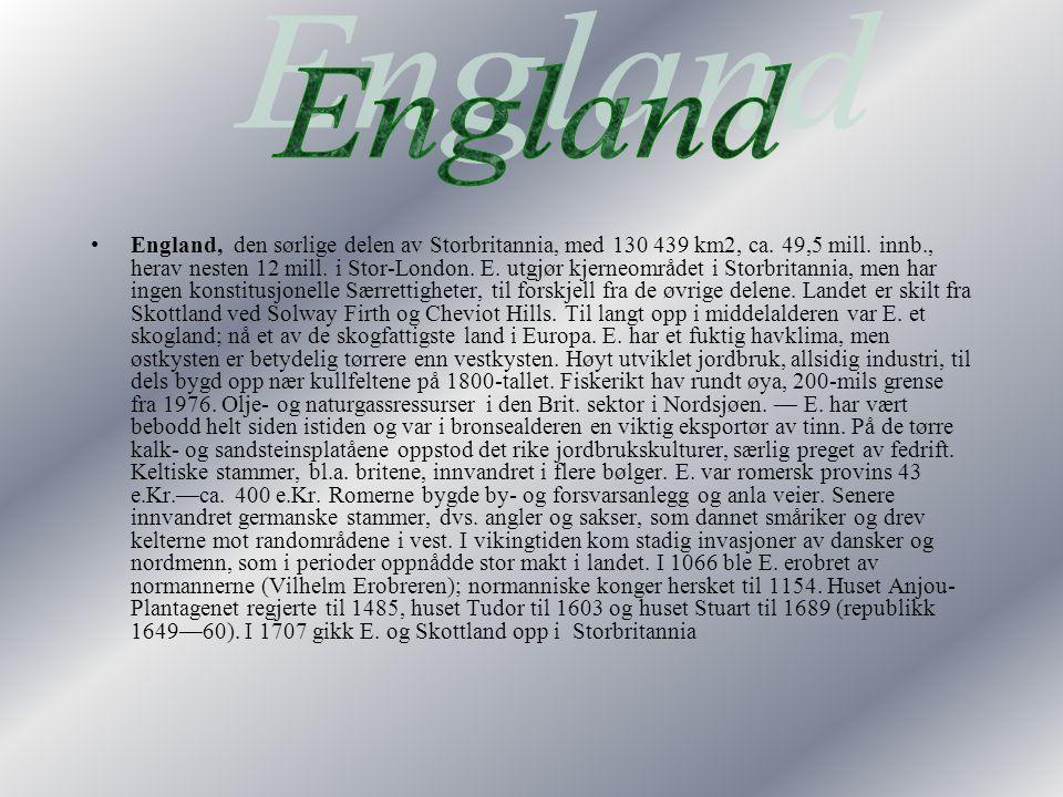 Storbritannia omfatter de historiske delrikene England, skottland og Wales samt omkringliggende øyer, Nord-Irland er også en del av Det forente konger