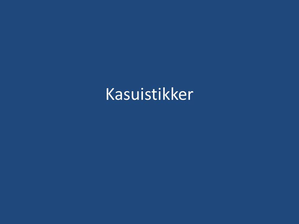 Kasuistikk 1 • 50 år gammel gift mann, 1 stedatter.