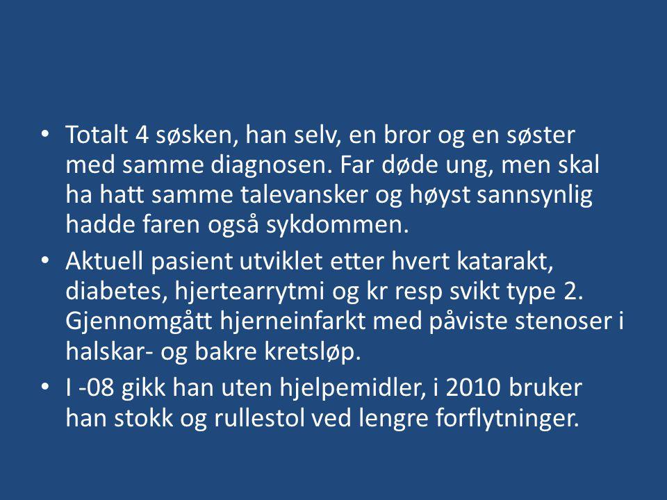 Diagnose?
