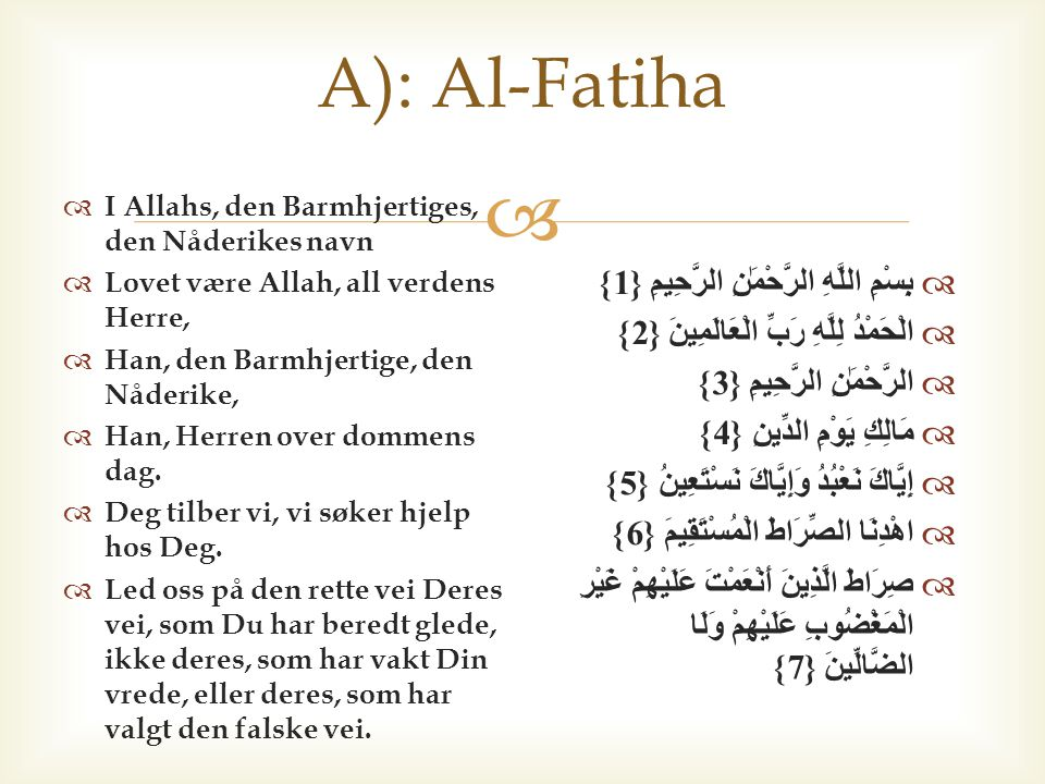 B) At samtlige Profeter og Sendebud bekreftet at Allah er deres Herre.