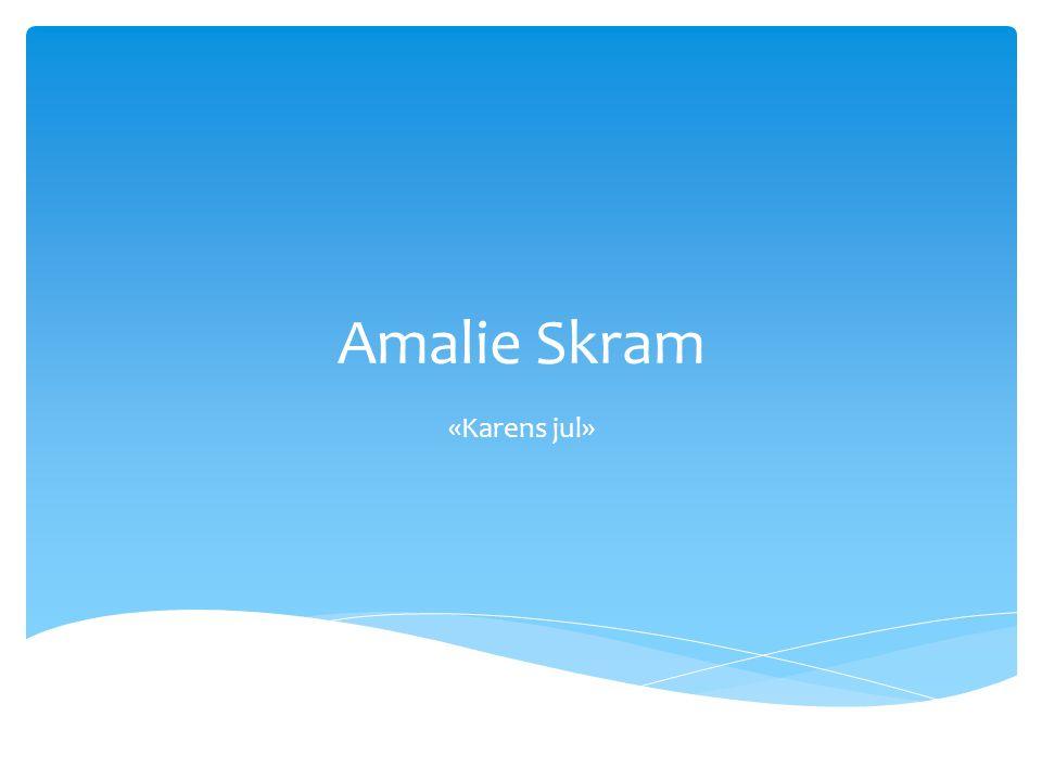 Amalie Skram «Karens jul»