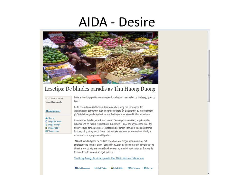 AIDA - Desire