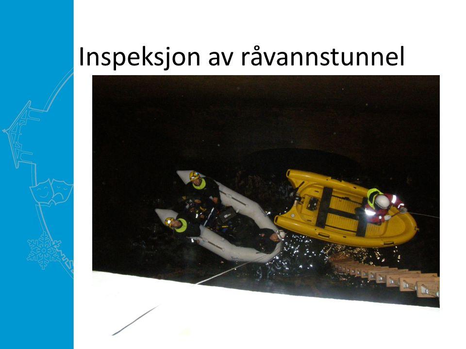 Inspeksjon av råvannstunnel