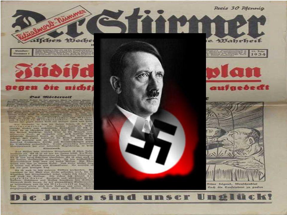 Nazismens fremgang  Mange nektet å akseptere republikken  Mange drømte om en ny krig der Tyskland kunne ta revansj  En av disse var Adolf Hitler. H