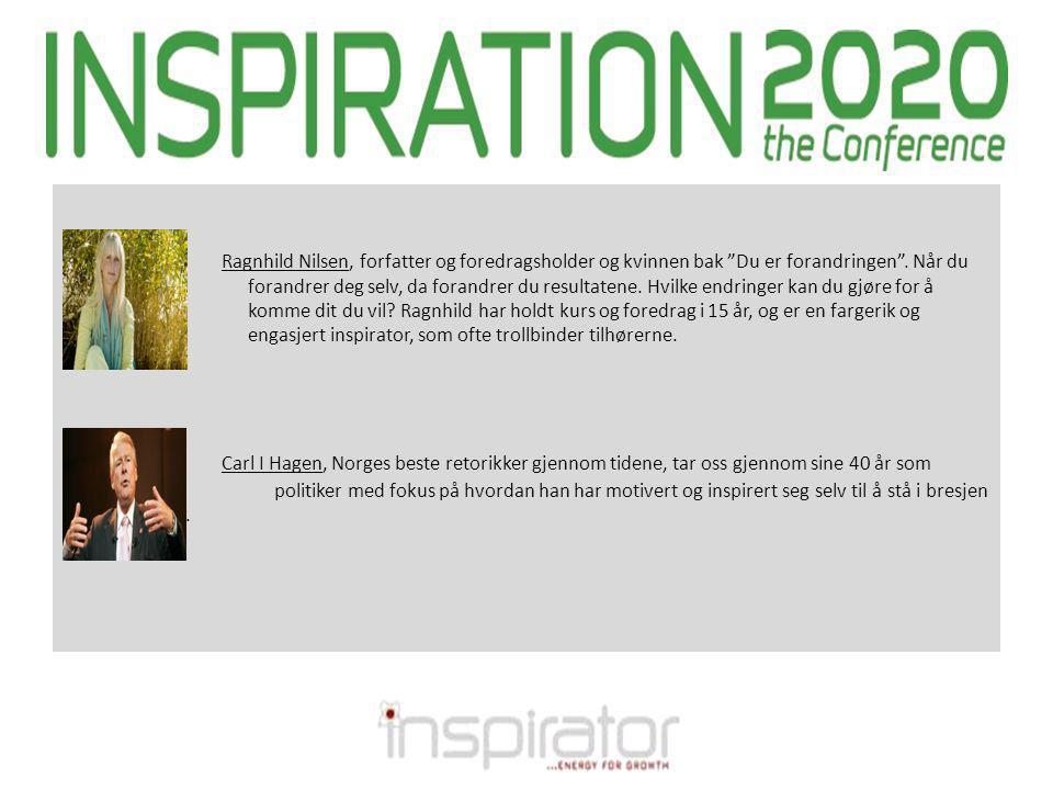 Ragnhild Nilsen, forfatter og foredragsholder og kvinnen bak Du er forandringen .