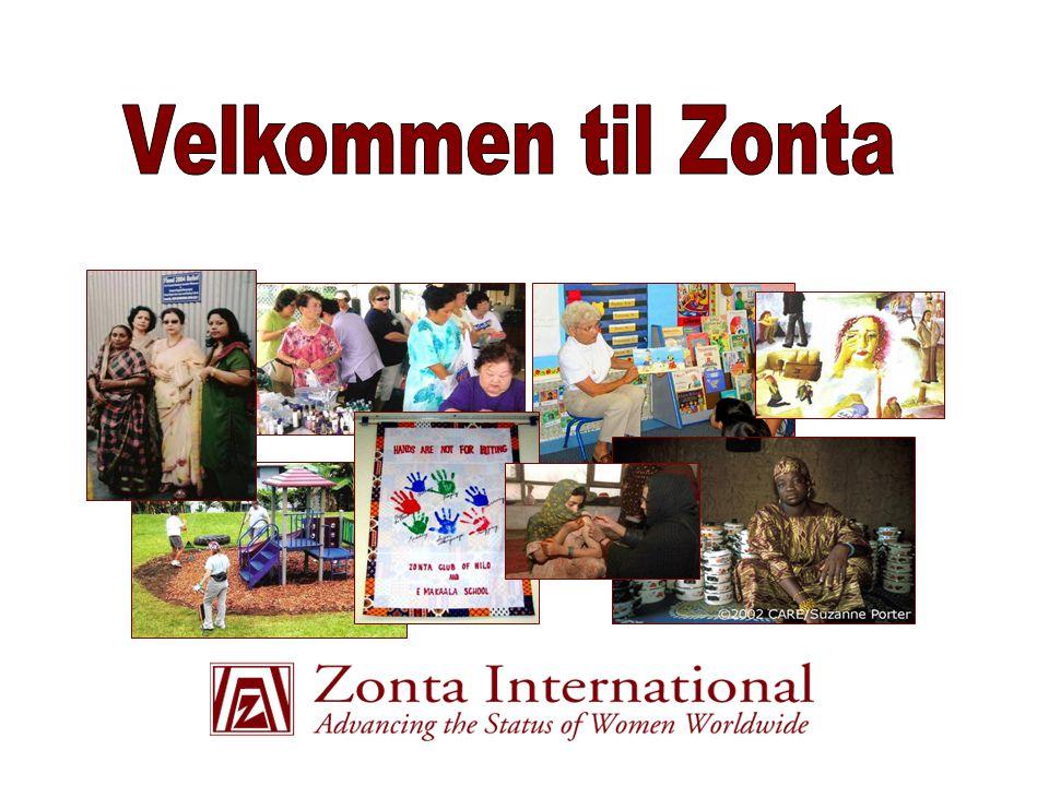 Innhold  Misjon, visjon, historie og struktur  Biennium mål og service prosjekter  Zonta Internasjonal (ZI) og ZIF (Zonta International Foundation)  Vår klubb  Zonta og deg