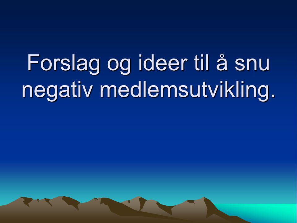 Omorganisere seilfly Norge.•Dette er et vanskelig tema.