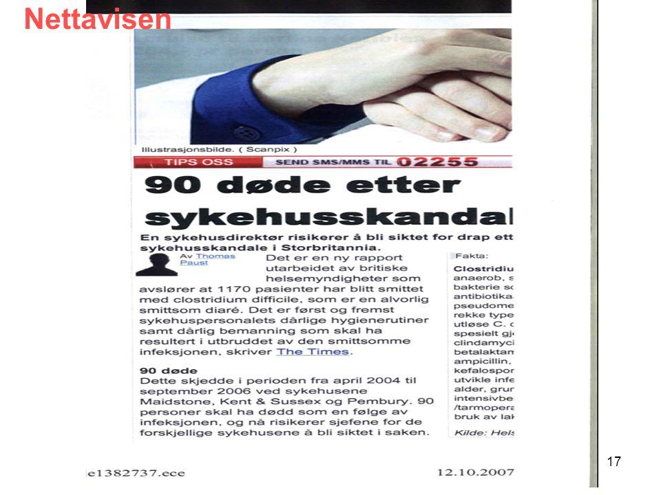 SUSH-møte 7. mai 200817 Nettavisen