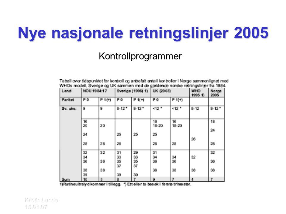 Kristin Lunde 15.04.07 Innhold i kontrollene ssu 36 •Vurdere leie •Mistanke om seteleie > Henvisning UL