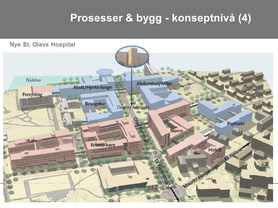 Nye St. Olavs Hospital Prosesser & bygg - konseptnivå (4)