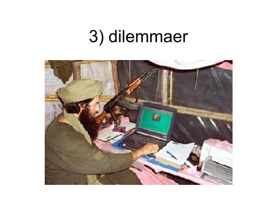 3) dilemmaer