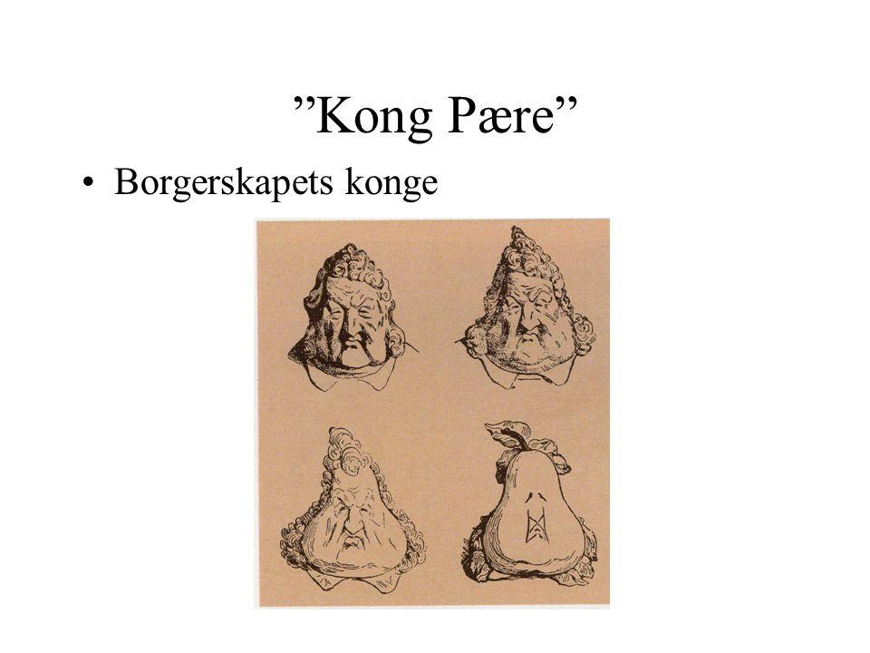 """""""Kong Pære"""" •Borgerskapets konge"""