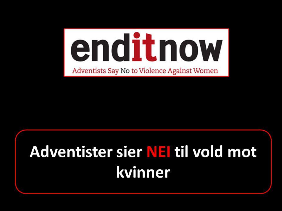 Adventister sier NEI til vold mot kvinner