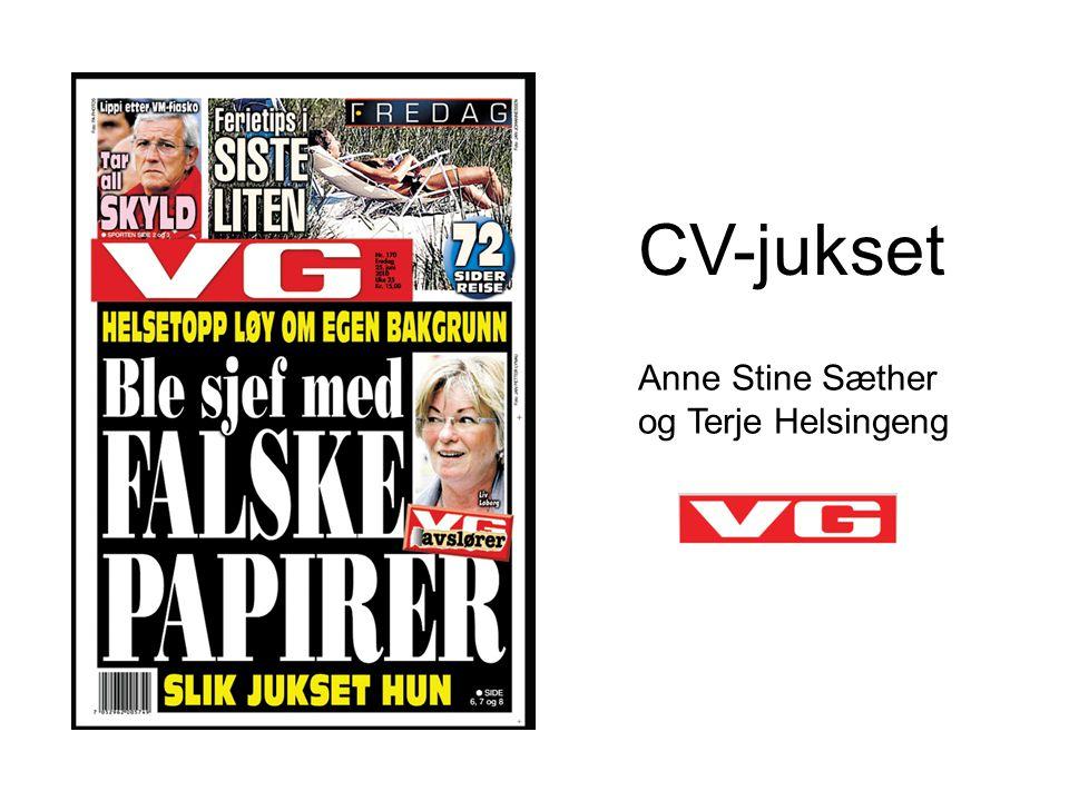CV-jukset Anne Stine Sæther og Terje Helsingeng